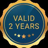 Valid 2 Years