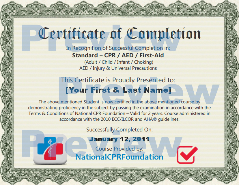 Onlinecprcertification Cpr Certification Online First Aid Training
