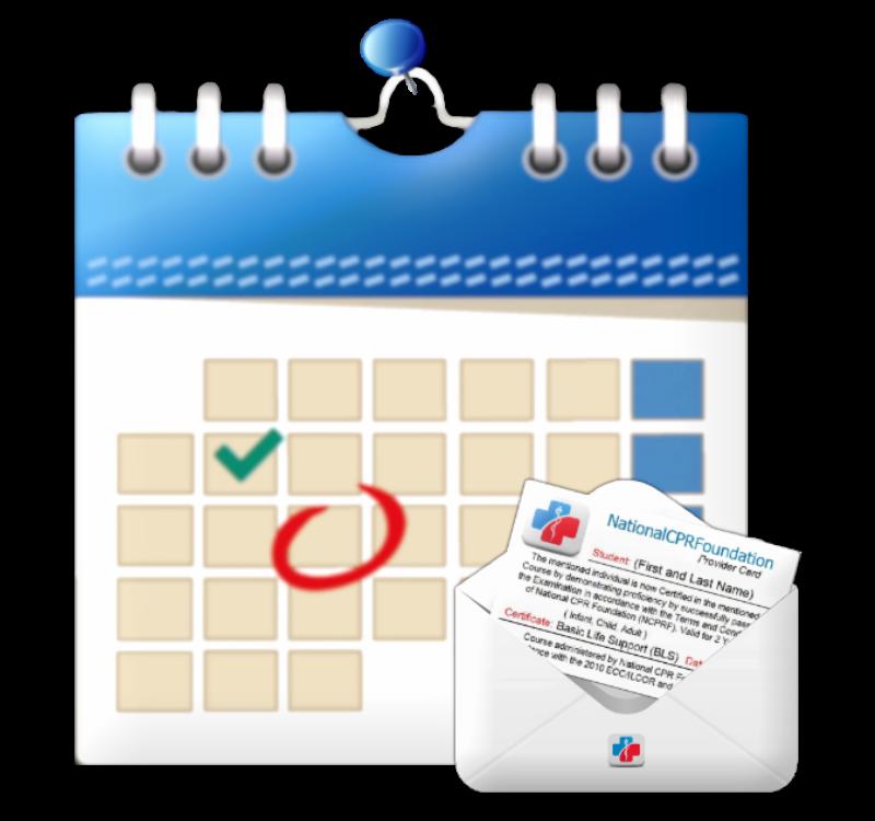 Calendar Online Certification Bls Aha Cpr Certification Online